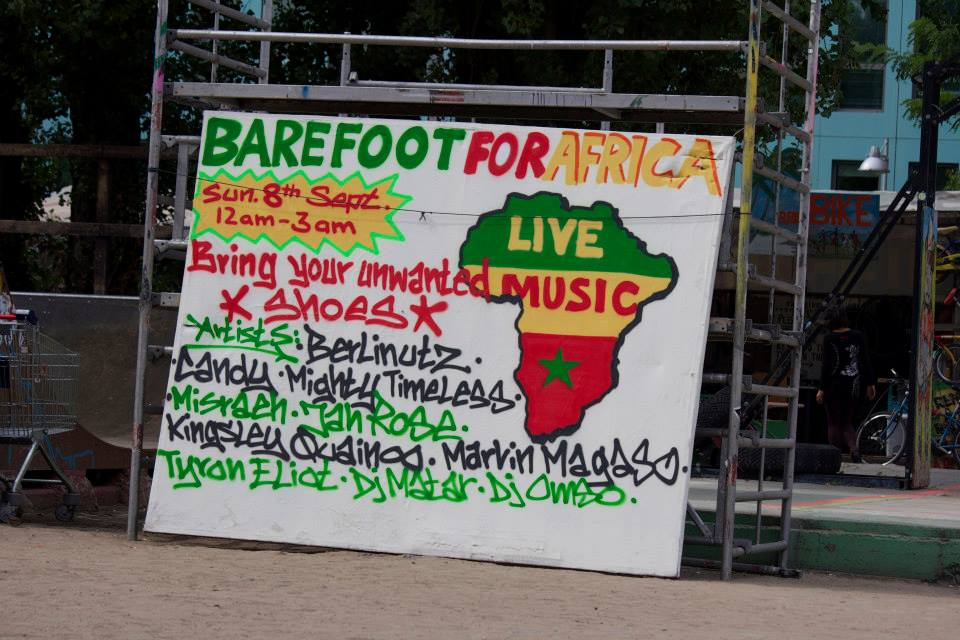 Barefoot for Africa