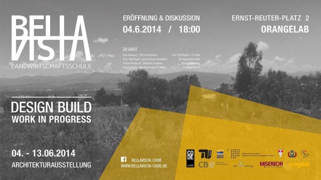 Exhibition and debate: Design-Build Bella Vista / Work in Progress